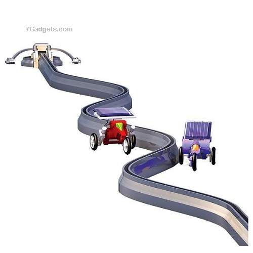 Solar Racers Set with Track