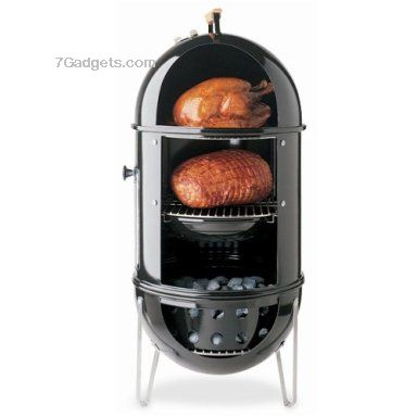 Weber Smokey Mountain Cooker Grill