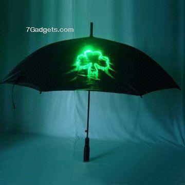Optical fiber umbrella