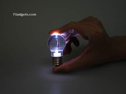 Crystal Keychain LED Bulb