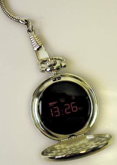 Digital Pocket Watch