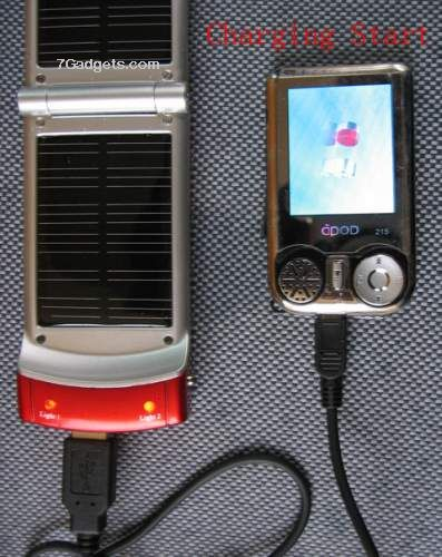 Solar Energy mobile Phone/Ipod/MP3/MP4