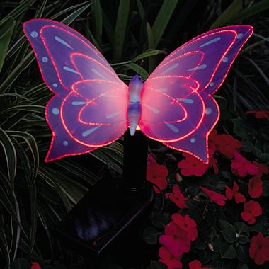 Solar Butterfly Light