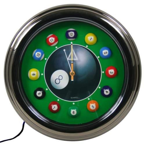 Neon Pool Clock