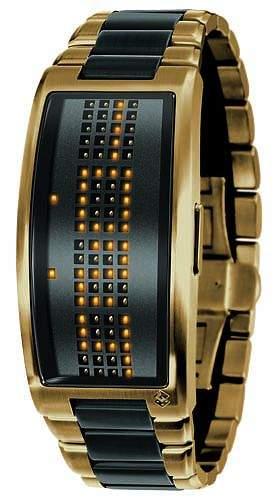 Black Dice LED Watch