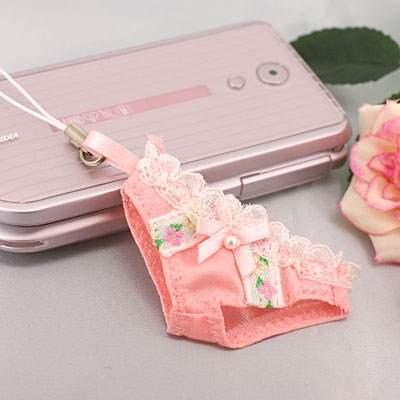 Sexy Undwear Cell Phone Strap<br />