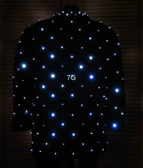 Jacket with 300 LEDs