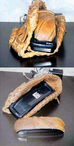 Cordless Baseball Telephone