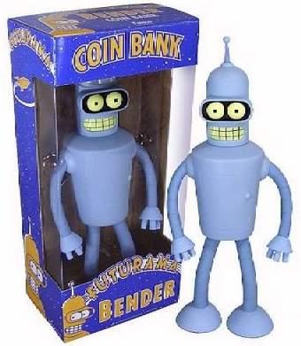 Bender Coin Bank