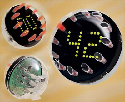 Sphere Electronic Clock