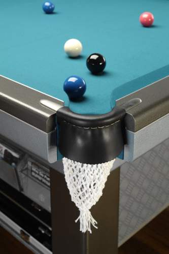 Billiards table with LCD