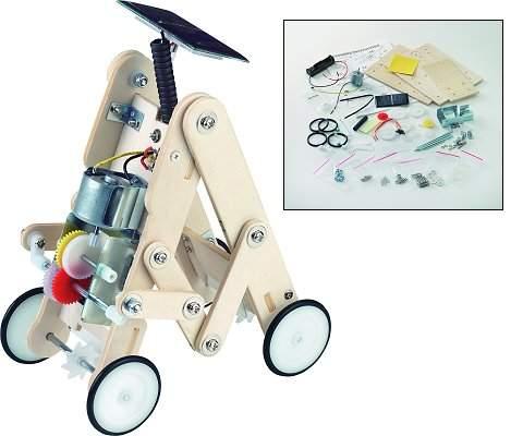 Lunar Car solar robot kit