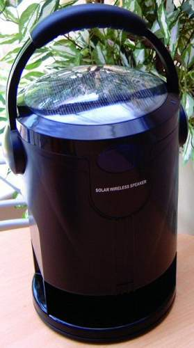 Solar Wireless Speaker