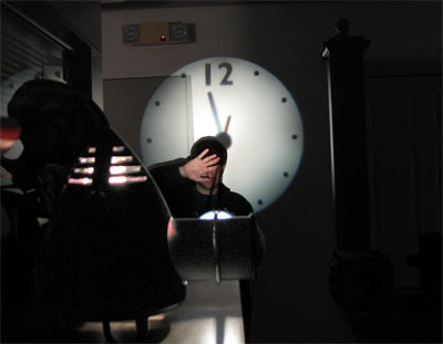 Timebeam Projection clock