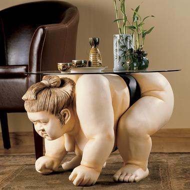 Basho The Sumo Wrestler Table<br />
