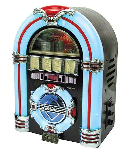 Retro Tabletop Jukebox