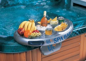 Inflatable bar