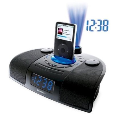 HoMedics iSound Spa Clock Radio with iPod Docking Station<br />