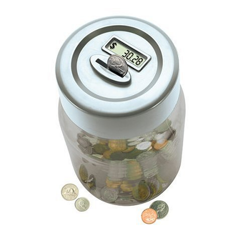 Digital Coin Counting Money Jar<br />