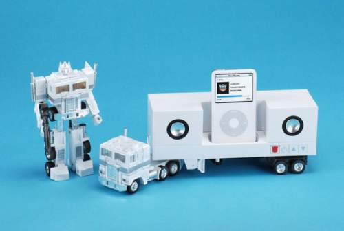 Transformer mp3 player