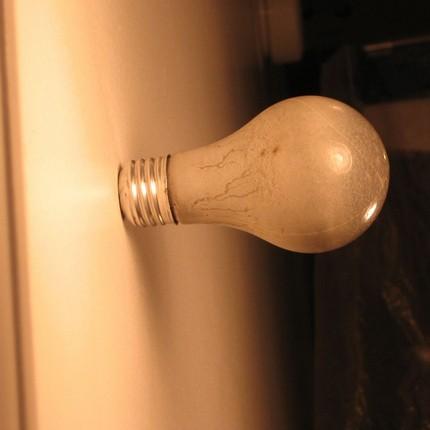 Lightbulb Wall Hook