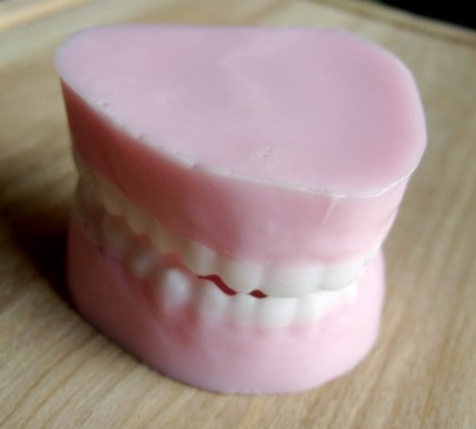 My dentures soap