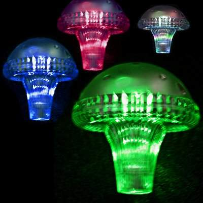 Solar Color Changing Mushroom