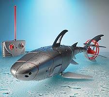 Radio-Controlled Cyborg Shark