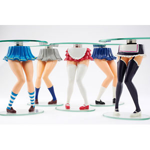 Girls legs coffee table