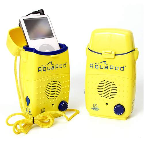 "AquaPod"" Splash-Proof iPod"