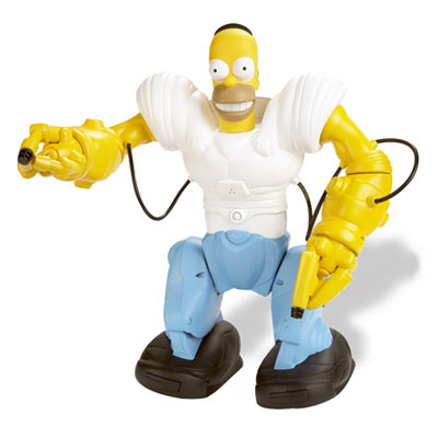 Simpsons HomerSapien Robot