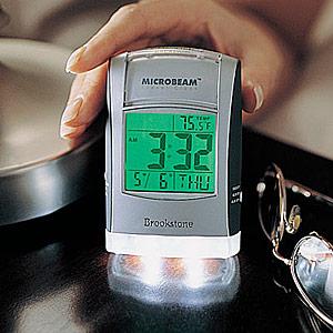Microbeam Travel Clock