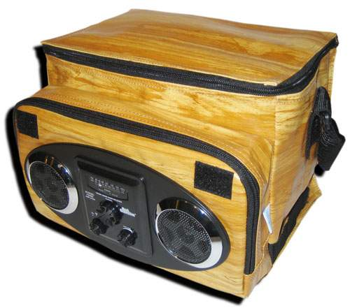 Woody Chill Out Stereo am/fm Cooler