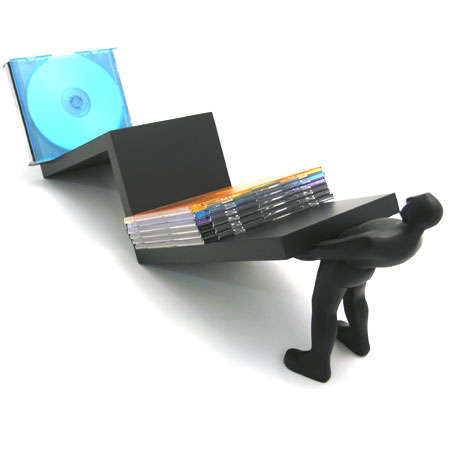 Zig Zag CD Holder<br />