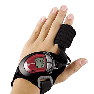 Finger Wrap Heart Rate Monitor