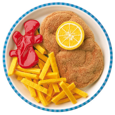 fabric foods for child