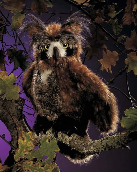Horned Owl Puppet