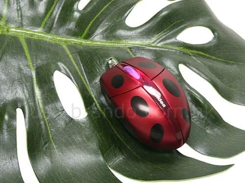USB Ladybug Mouse