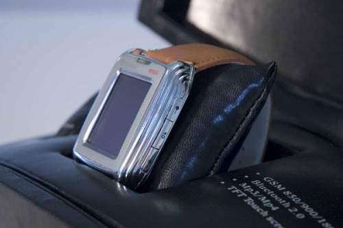 Mobile phone watch