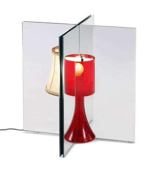 Lamp mirror