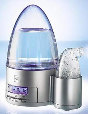 Ultrasonic Humidifier with Programmable Timer