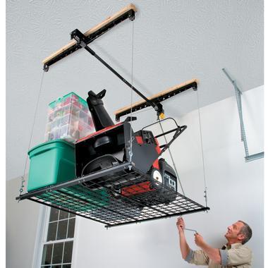Heavy Lift Garage Elevator