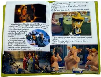 Shrek III Plush Storybook Pillow