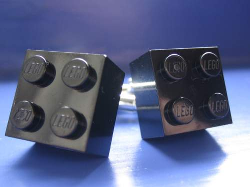 Black Brick Cufflinks