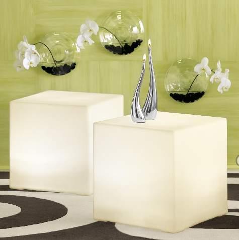 disc wall vase