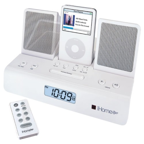 Portable Speakers with Alarm Clock