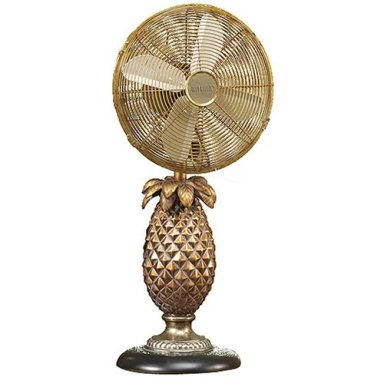 Deco Breeze Pineapple Table Fan