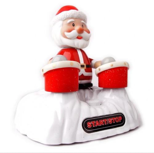 USB Drumming Santa
