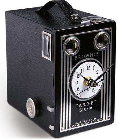 Box Camera Clock