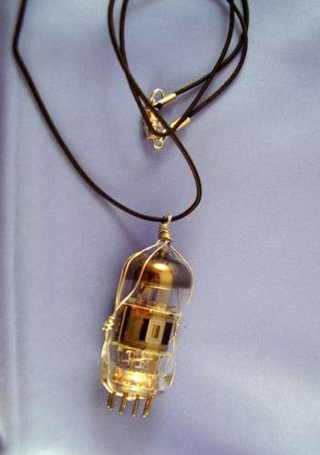 Vacuum Tube Necklace